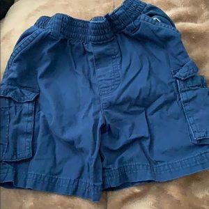 Other - Navy Blue Cargo Shorts Garanimals